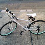 クロスバイクをネットで買って自分で組み立ててみた