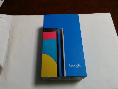 Nexus5の箱