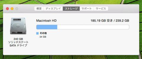 MacBookAir SSD交換後