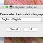 Bitnami 言語選択