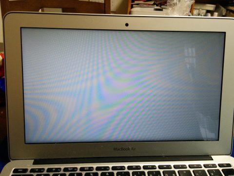 MacBookAir SSD交換後の起動