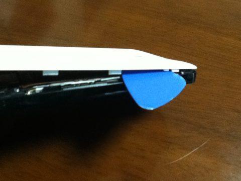 Nexus5 蓋を開ける