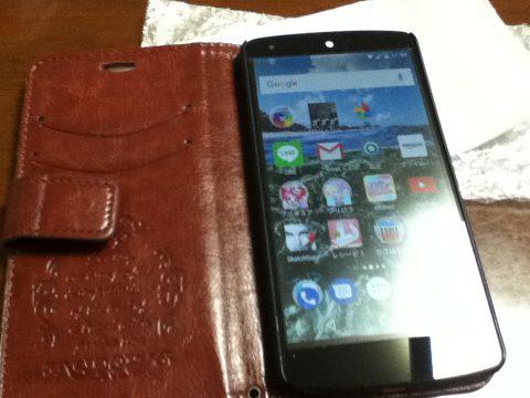 Nexus5 バッテリー交換後の動作確認
