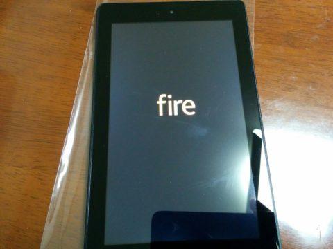 Fire7 電源オン