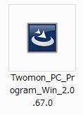 Twomon PC用インストールファイル