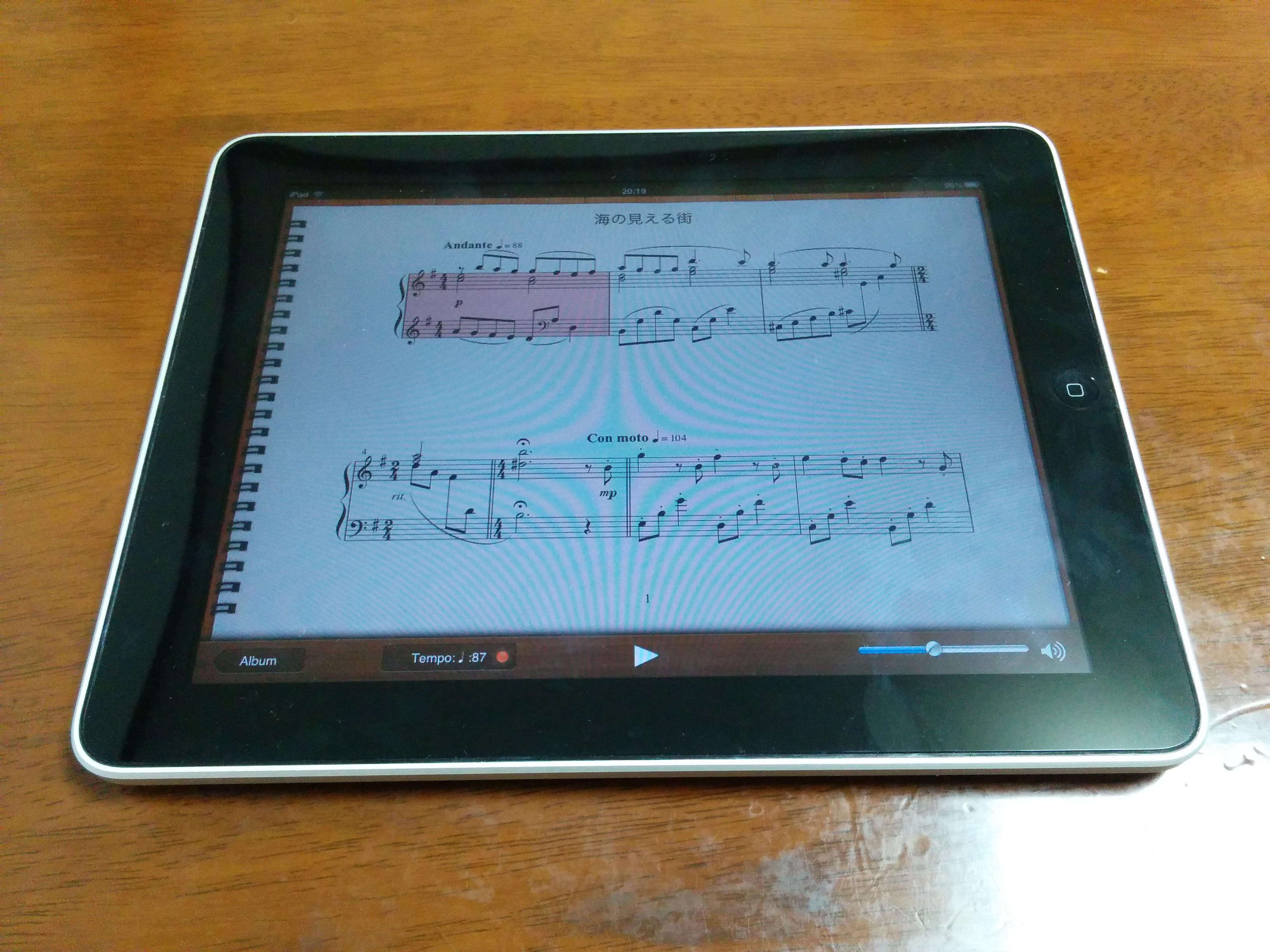 初代iPad SonataNote