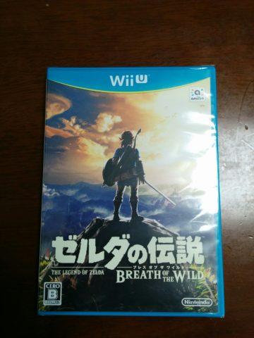 ゼルダの伝説ブレスオブザワイルド WiiU版