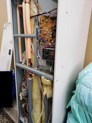 Natinal電気温水器内部