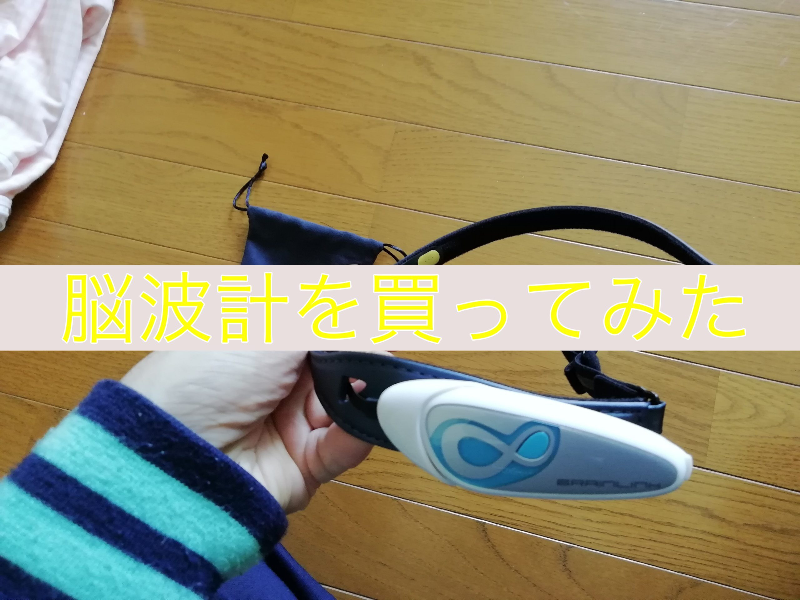 脳波計を買ってみた「BrainLink Lite2.0」